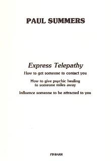 a summary of telepathy